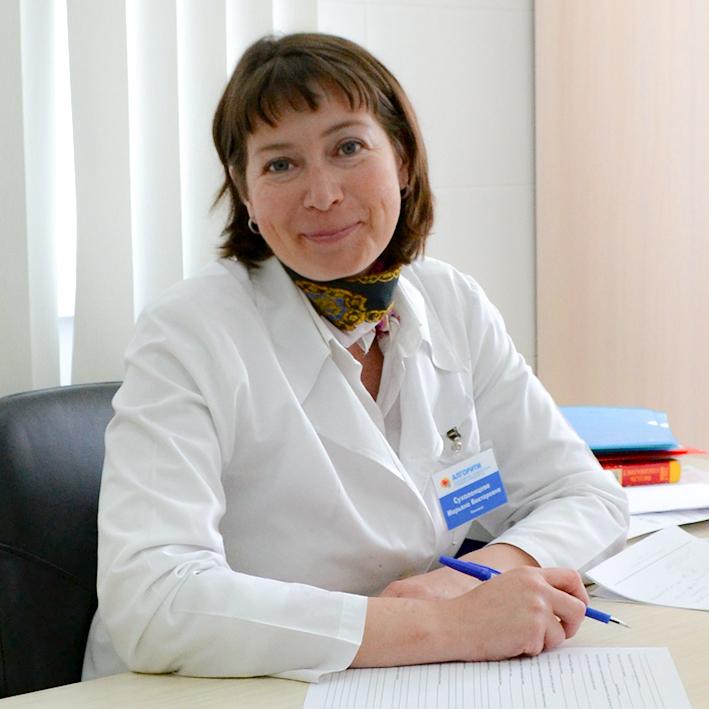 Сухоленцева Марьяна Викторовна